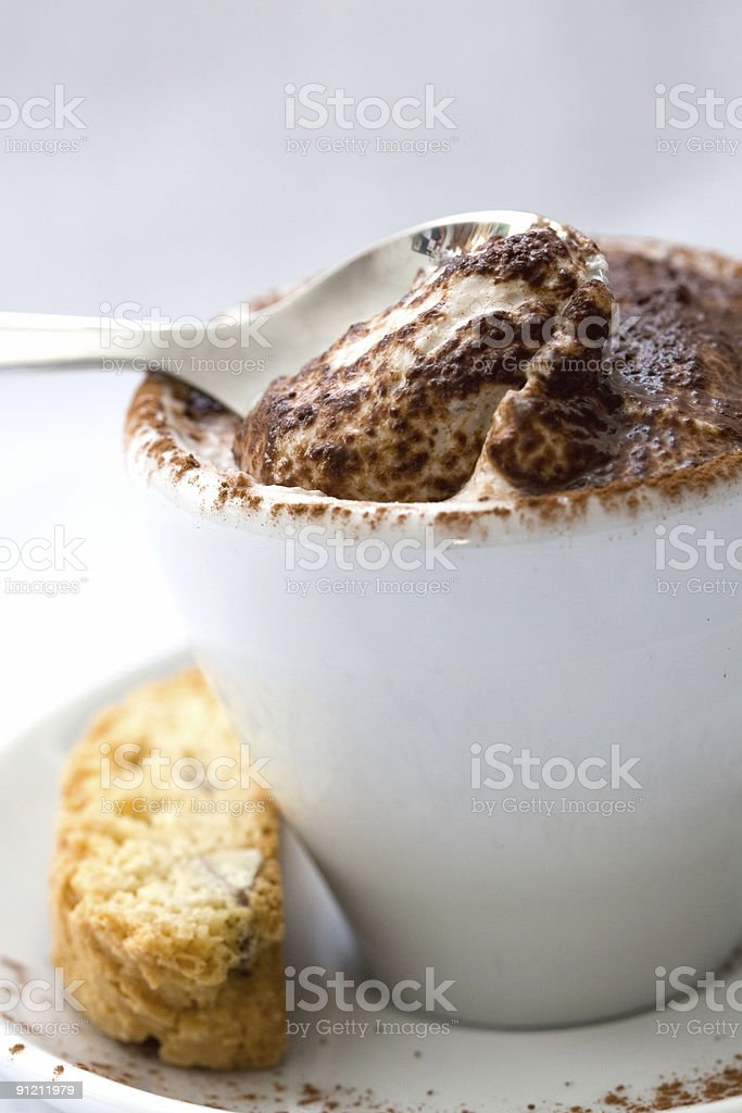 Small dessert royalty-free stock photo
