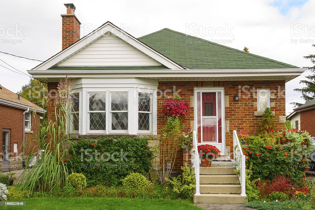 Small Detached House royalty-free stock photo