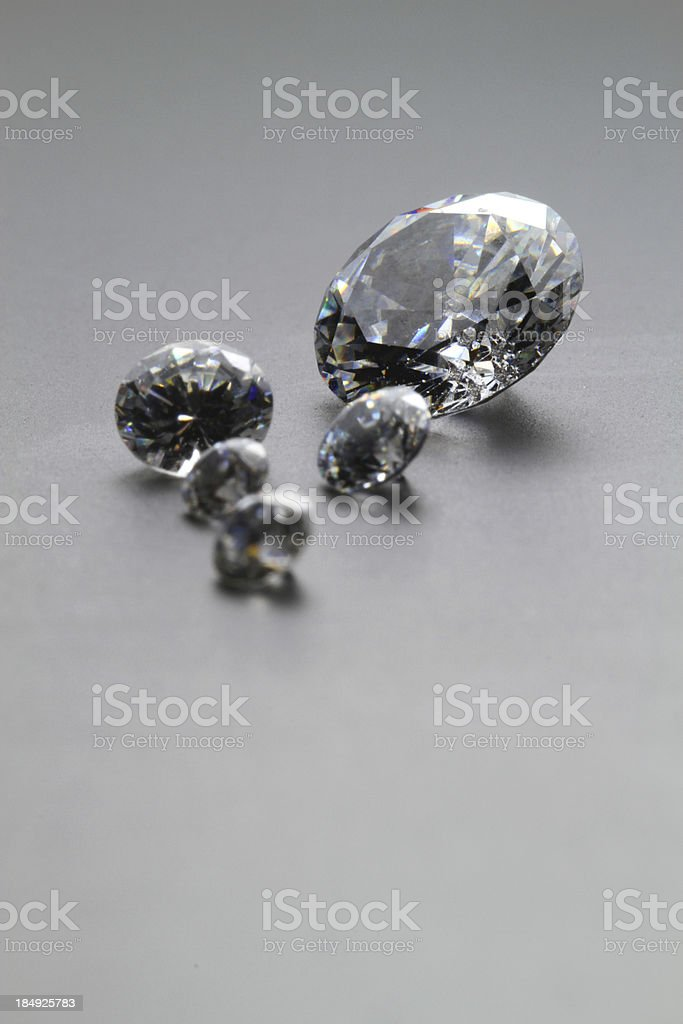 Small Diamonds stock photo