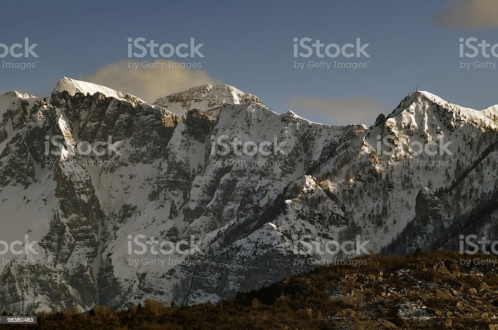 Piccole dolomiti foto stock royalty-free