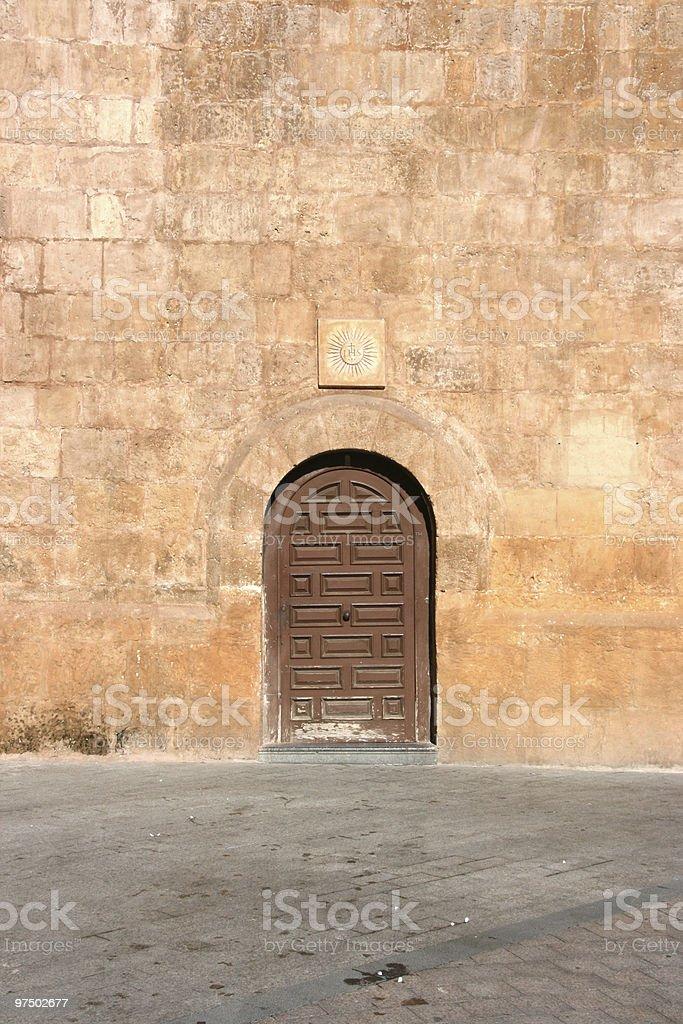 Small door royalty-free stock photo