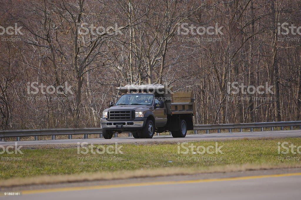 Small Dump Truck royalty-free stock photo