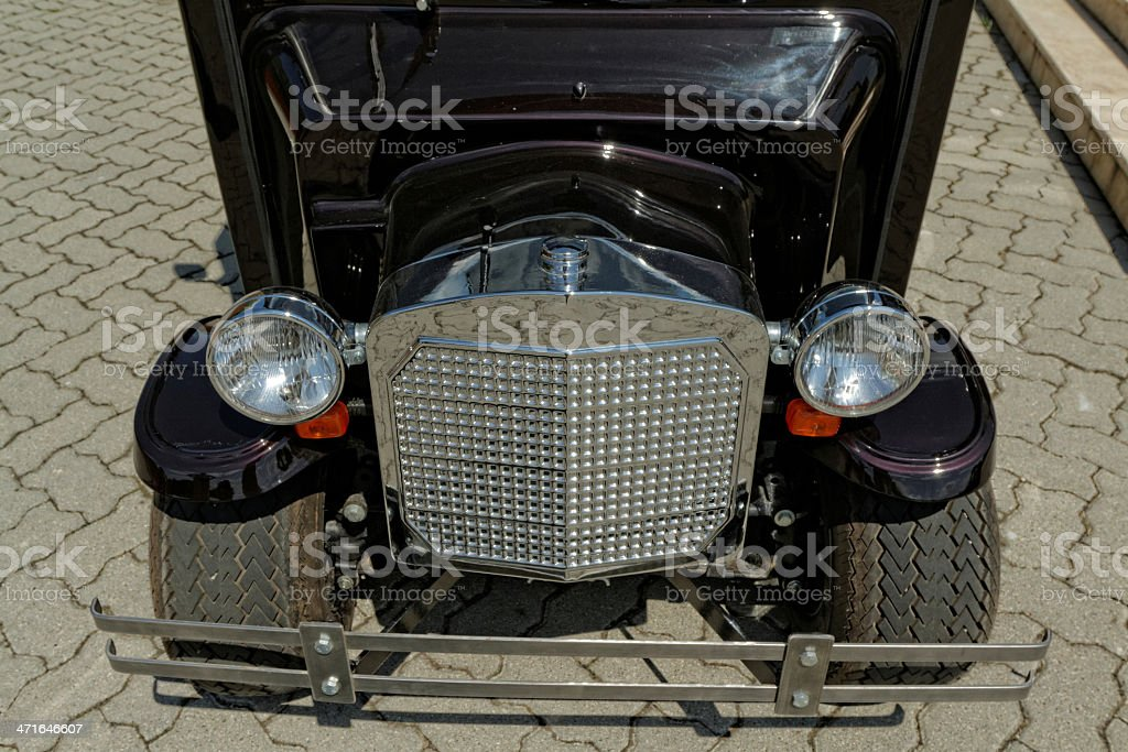 small electric car royalty-free stock photo