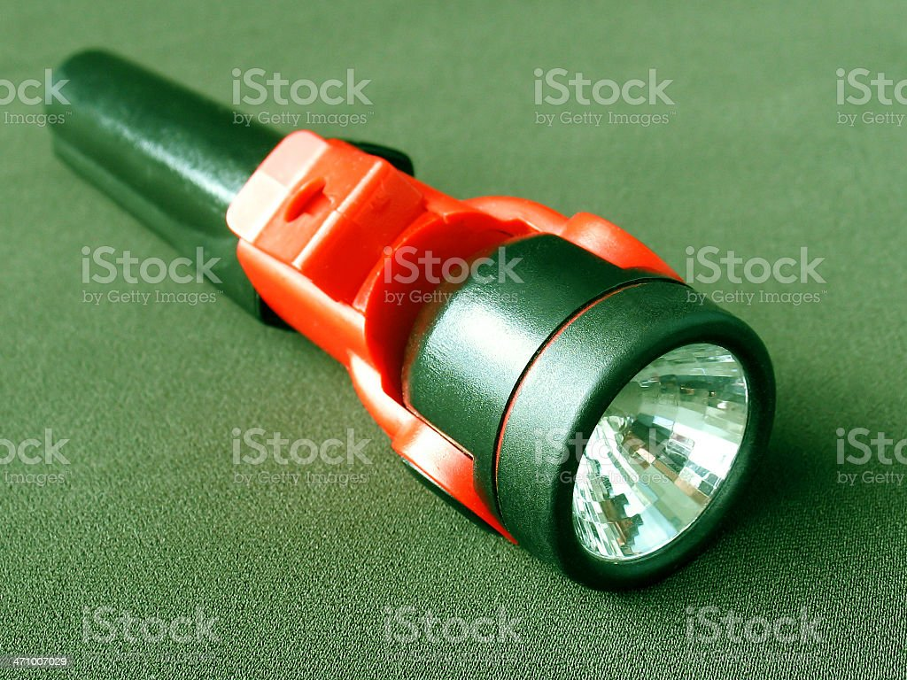 Small electric torch stock photo