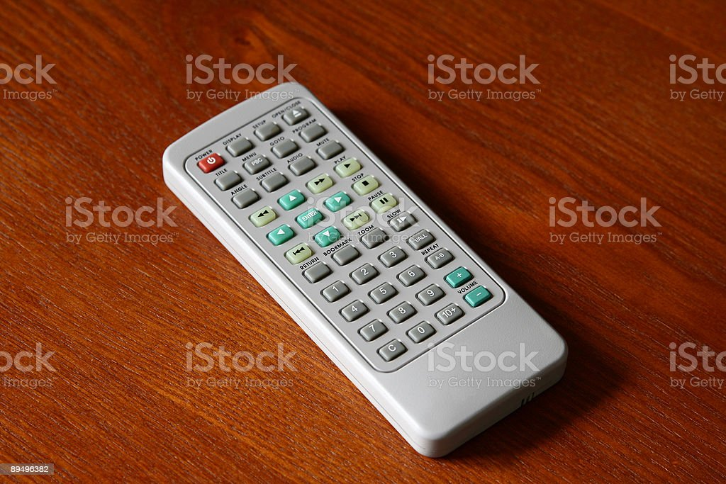 Small Electronic Remote royalty free stockfoto