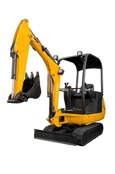 small excavator - excavator bildbanksfoton och bilder
