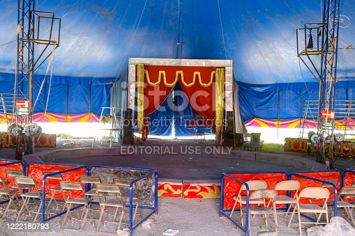 istock A small family circus camped on the outskirts of a Mexican City 1222180793