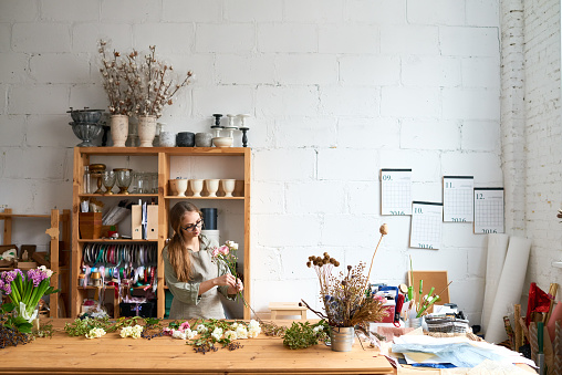 Small floral business