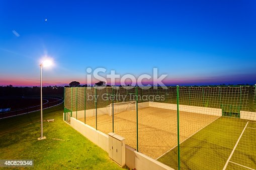 508552962 istock photo Small football pitch 480829346
