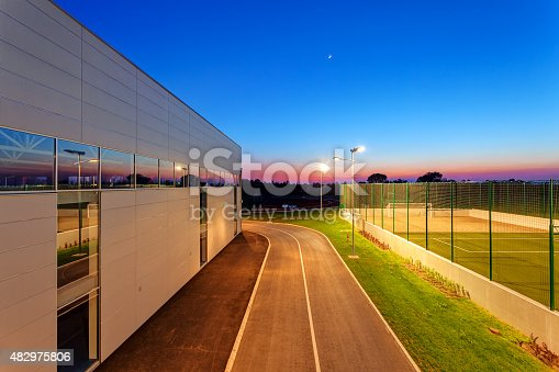 508552962 istock photo Small football pitch 482975806