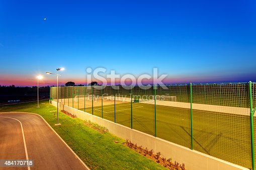 508552962 istock photo Small football pitch 484170718