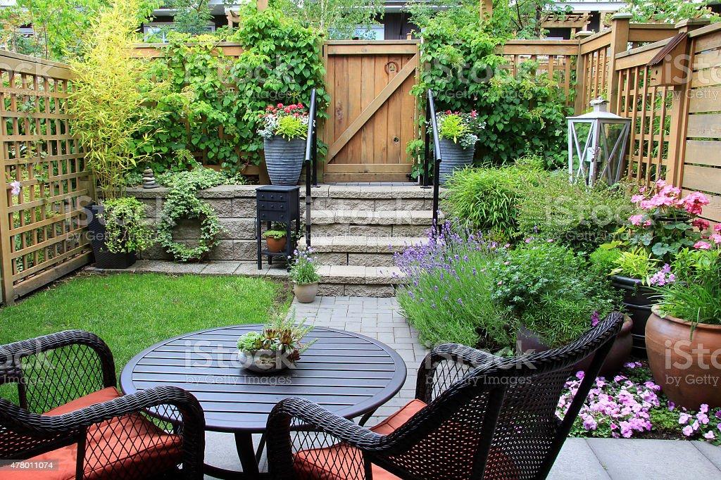 Kleiner Garten. – Foto
