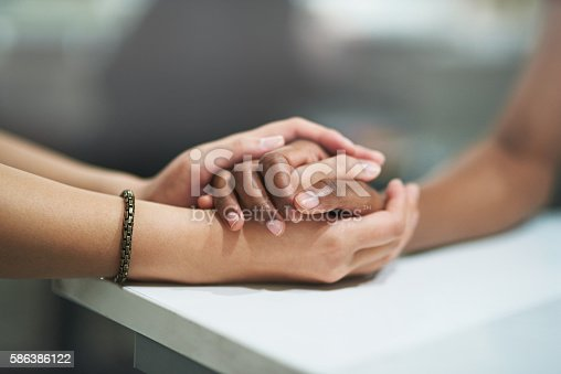 istock Small gestures that bridge the divide 586386122