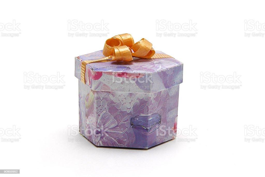 Small Gift box royalty-free stock photo