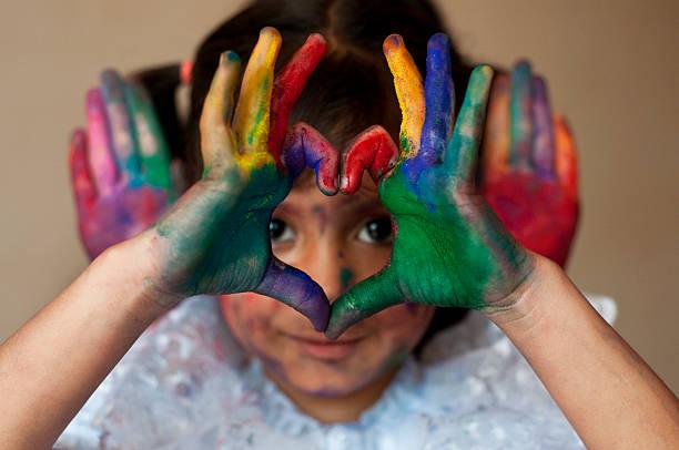Spielt mit Farben – Foto