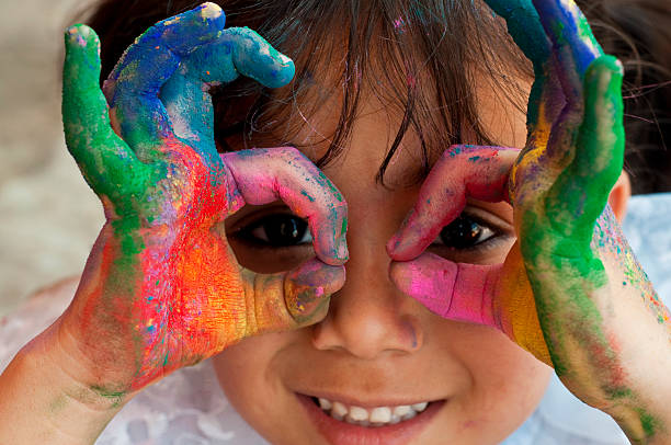 art and craft nourishes kids