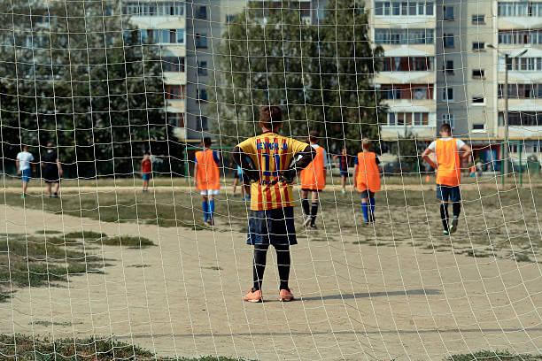 small goalkeeper - neymar - fotografias e filmes do acervo