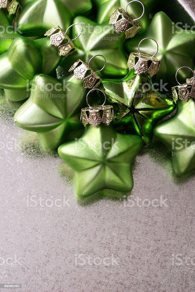 Petit Vert Stars photo libre de droits