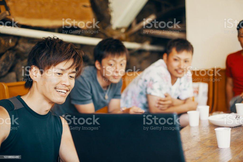 men looking for fun