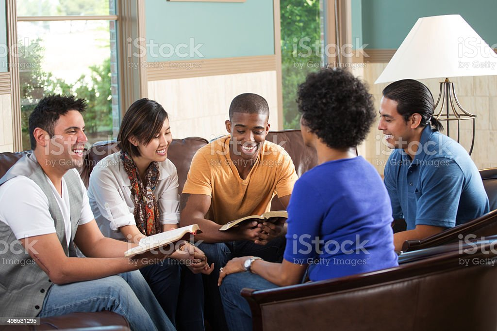 Small Group stock photo