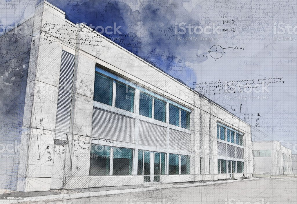 Small Grunge Businesses stock photo