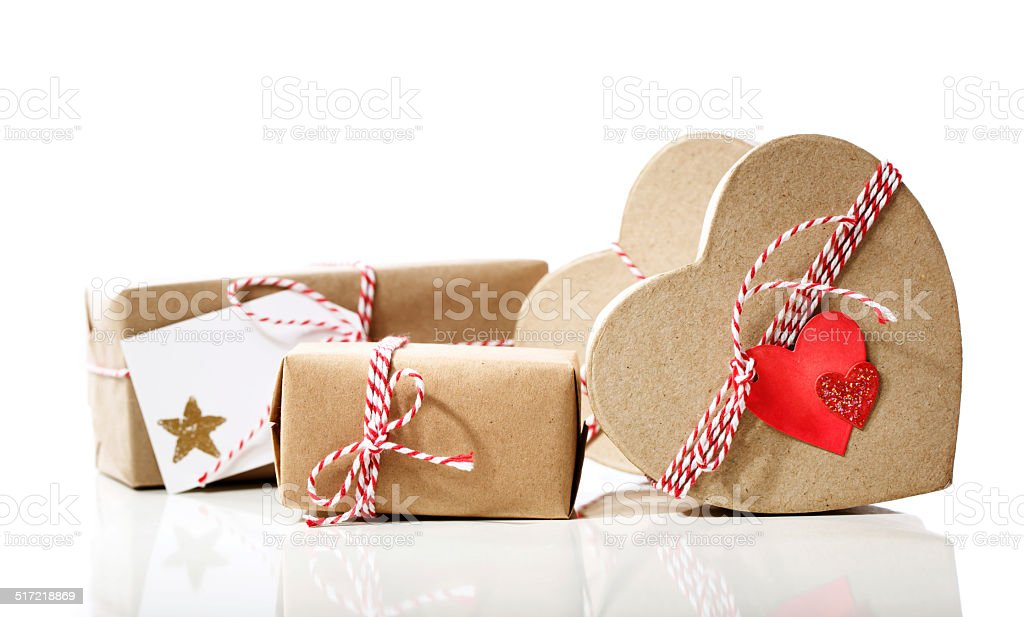 Small Handmade Gift Boxes Stock Photo Download Image Now Istock