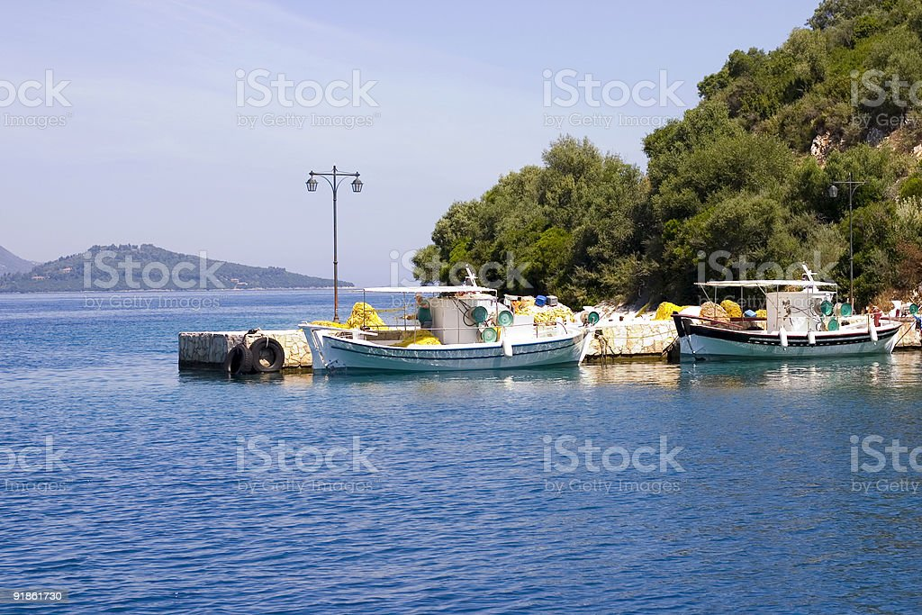 Small Harbour stock photo