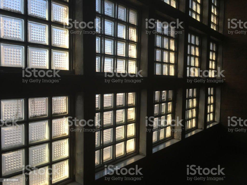cube glass windows