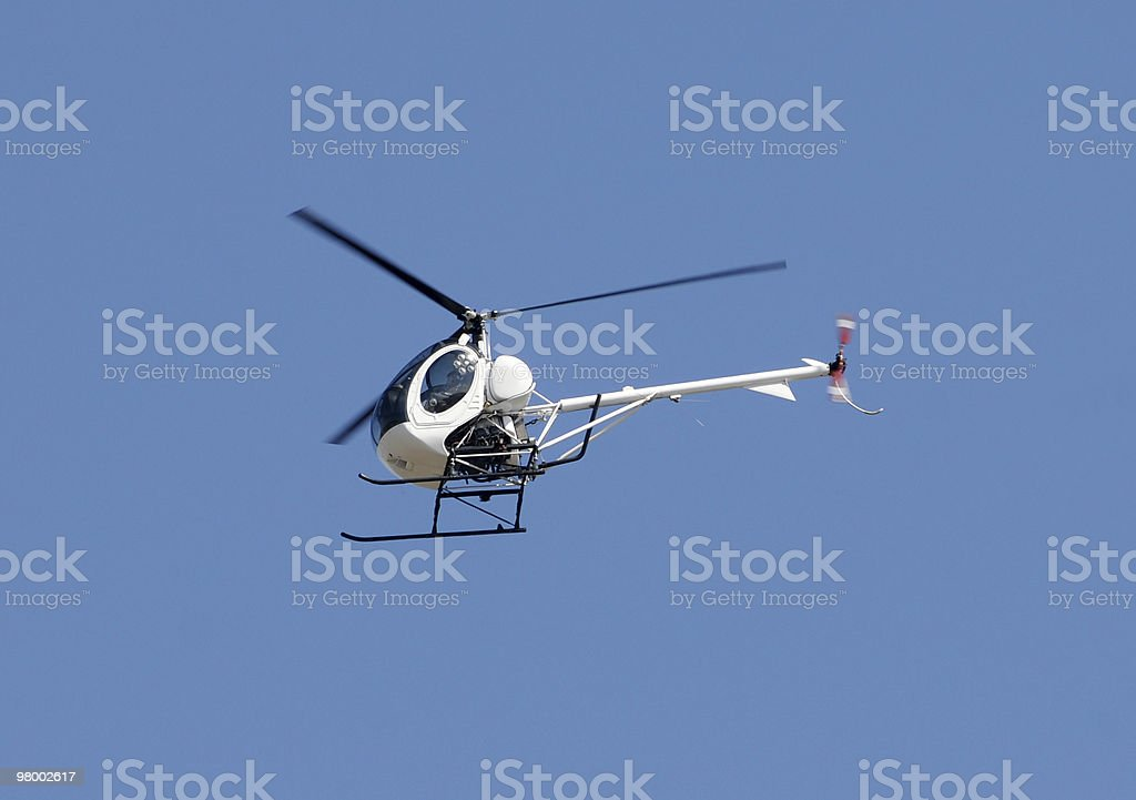 Small helicopter royalty-free stock photo