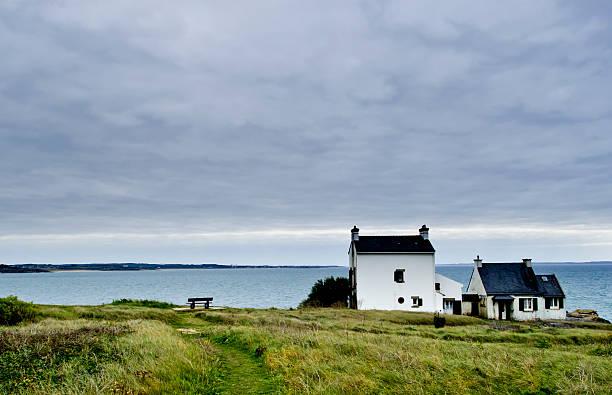 Kleine homestead in der Bretagne, Frankreich – Foto