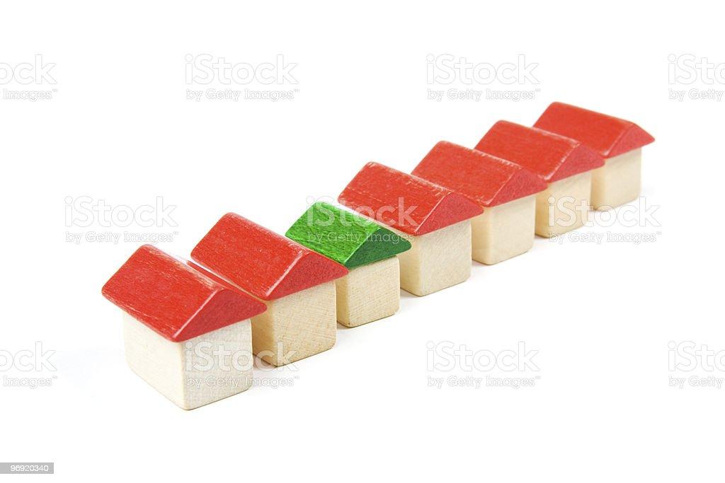 Pequena casa - fotografia de stock