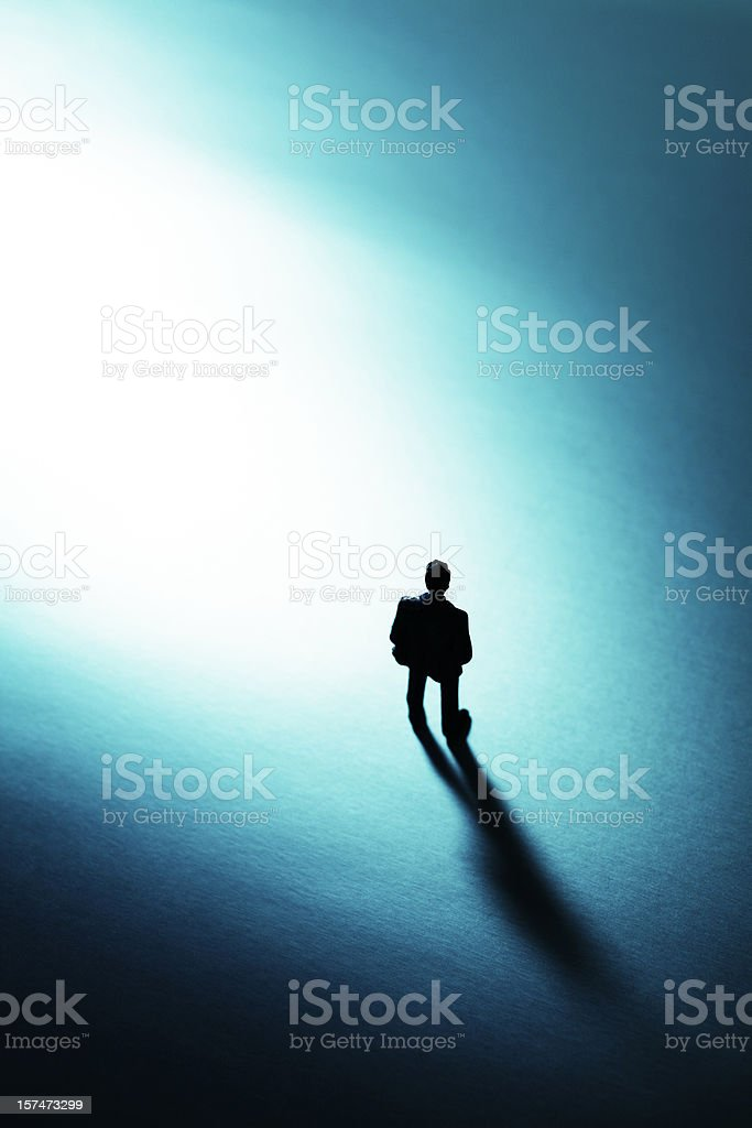 Small Human Figure royalty-free stock photo