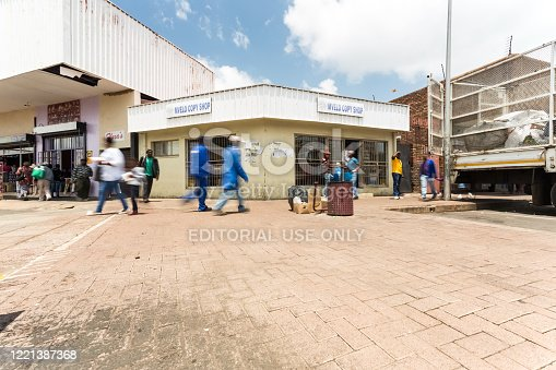 Middleburg, South Africa - February 02, 2015: Small independent copy and print shop on the high street