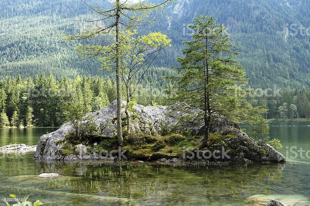 Small island stock photo