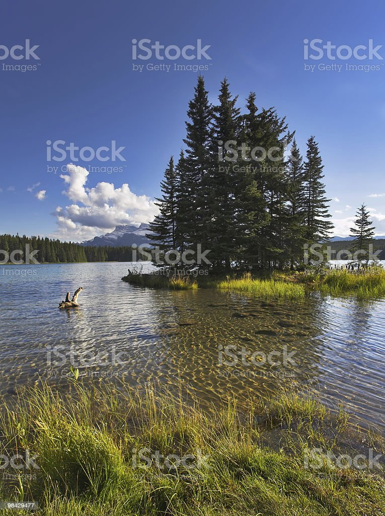 Small island. royalty-free stock photo