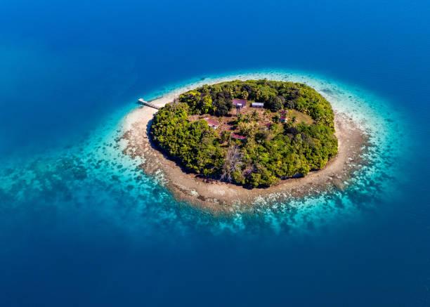 Pequeña isla Tonga - foto de stock