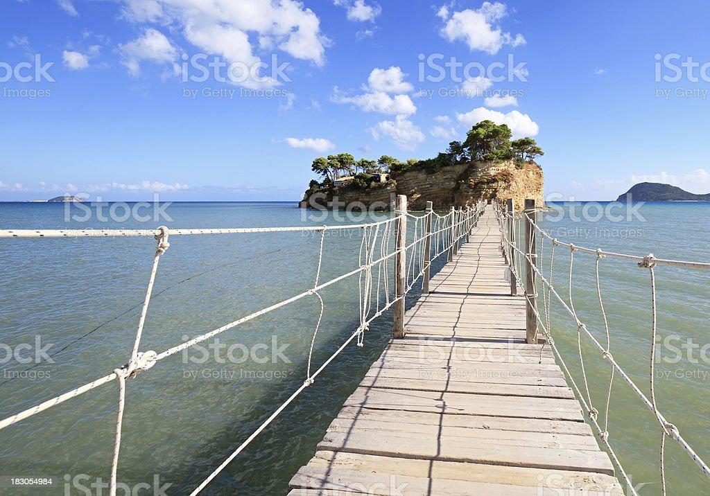 Small Island, Zakynthos, Greece royalty-free stock photo