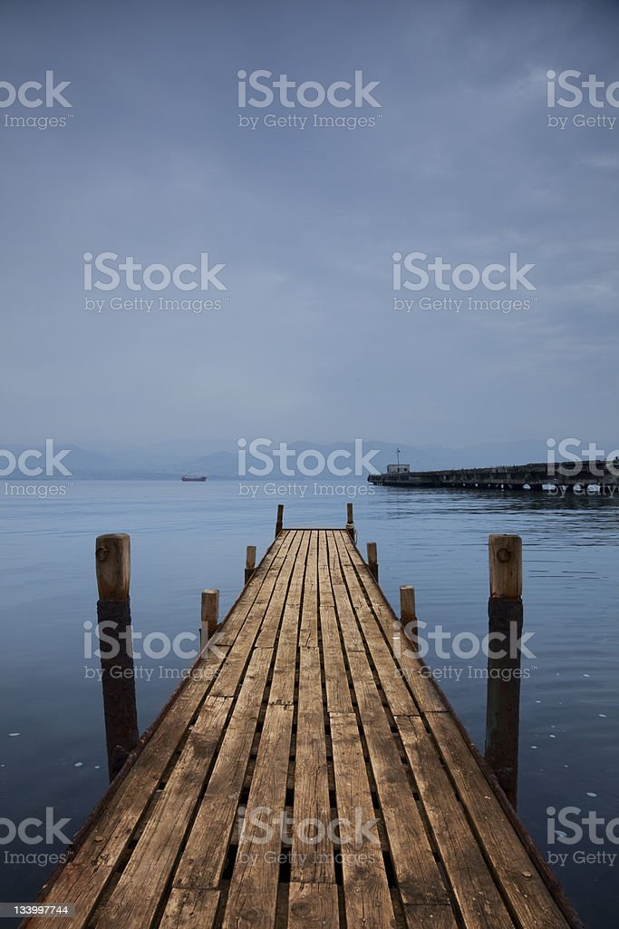 Small Jetty royalty-free stock photo