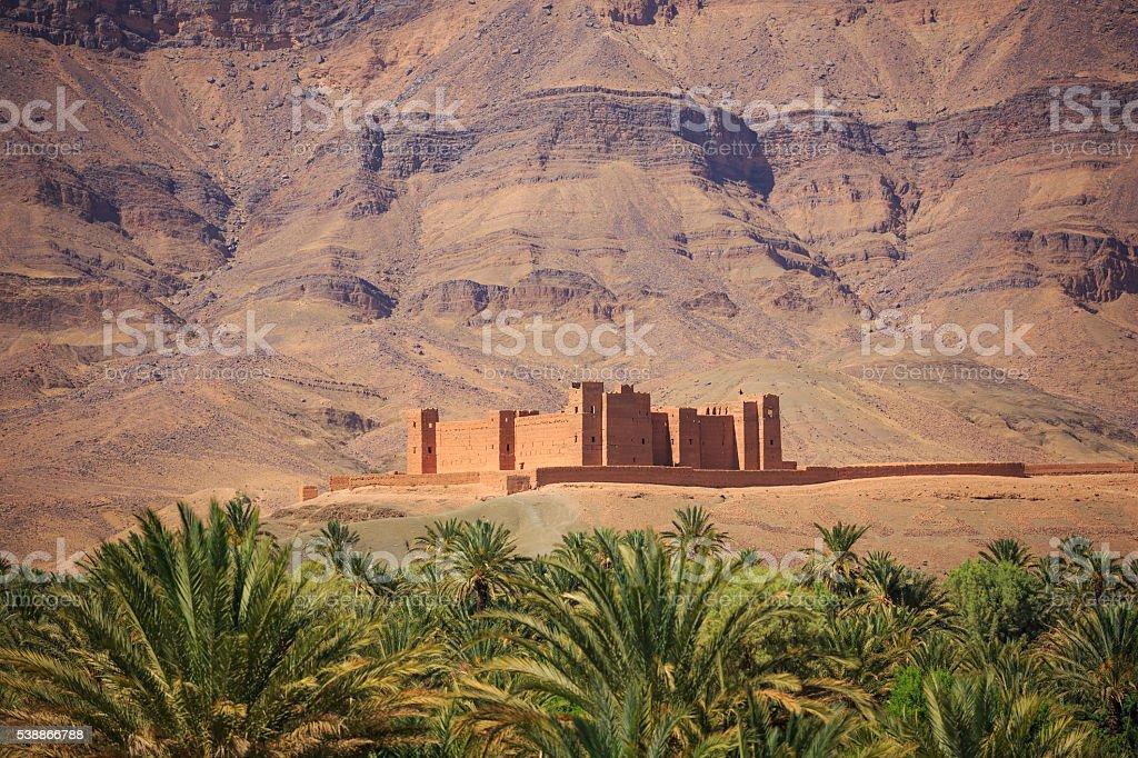 small kasbah stock photo