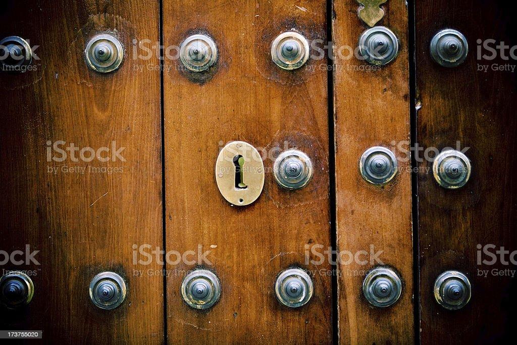 Small key hole royalty-free stock photo