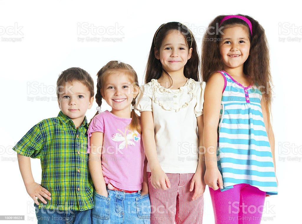 small kids royalty-free stock photo