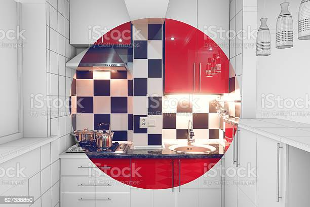 Small kitchen interior half finished picture id627338850?b=1&k=6&m=627338850&s=612x612&h=yzzn34e4yh veo9tw6zhrznzlugwmny0pmwf72lu3v4=