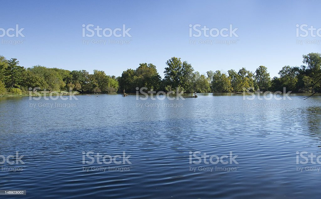 Small Lake stock photo
