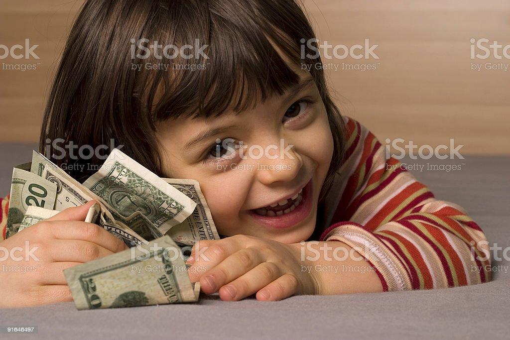 Kind und-Dollar – Foto