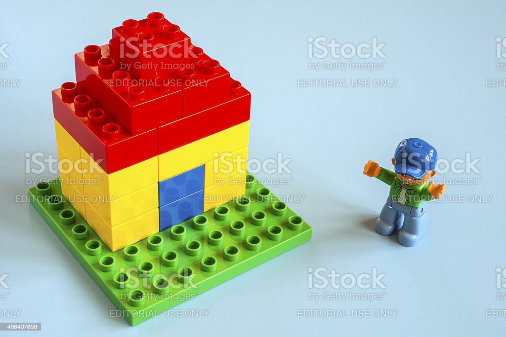 Small Lego House Stock Photo - Download Image Now - iStock