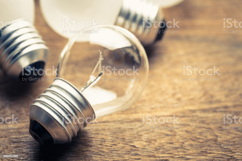 Small light bulb stock photo