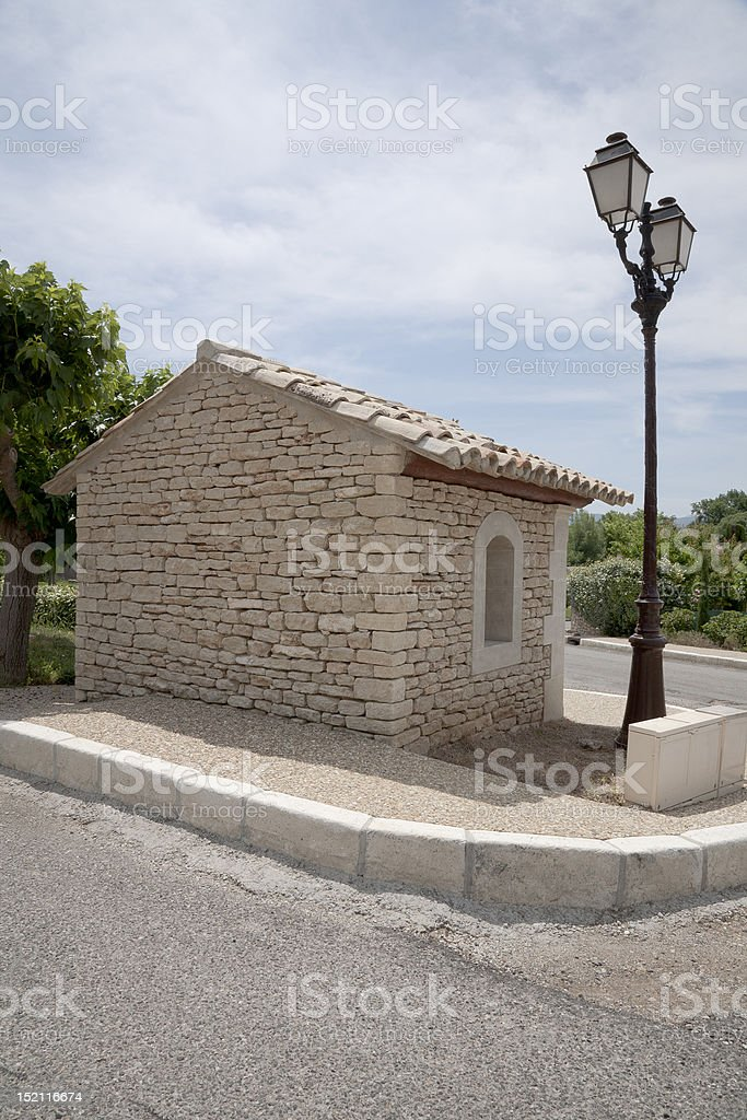 Small Limestone Building stock photo