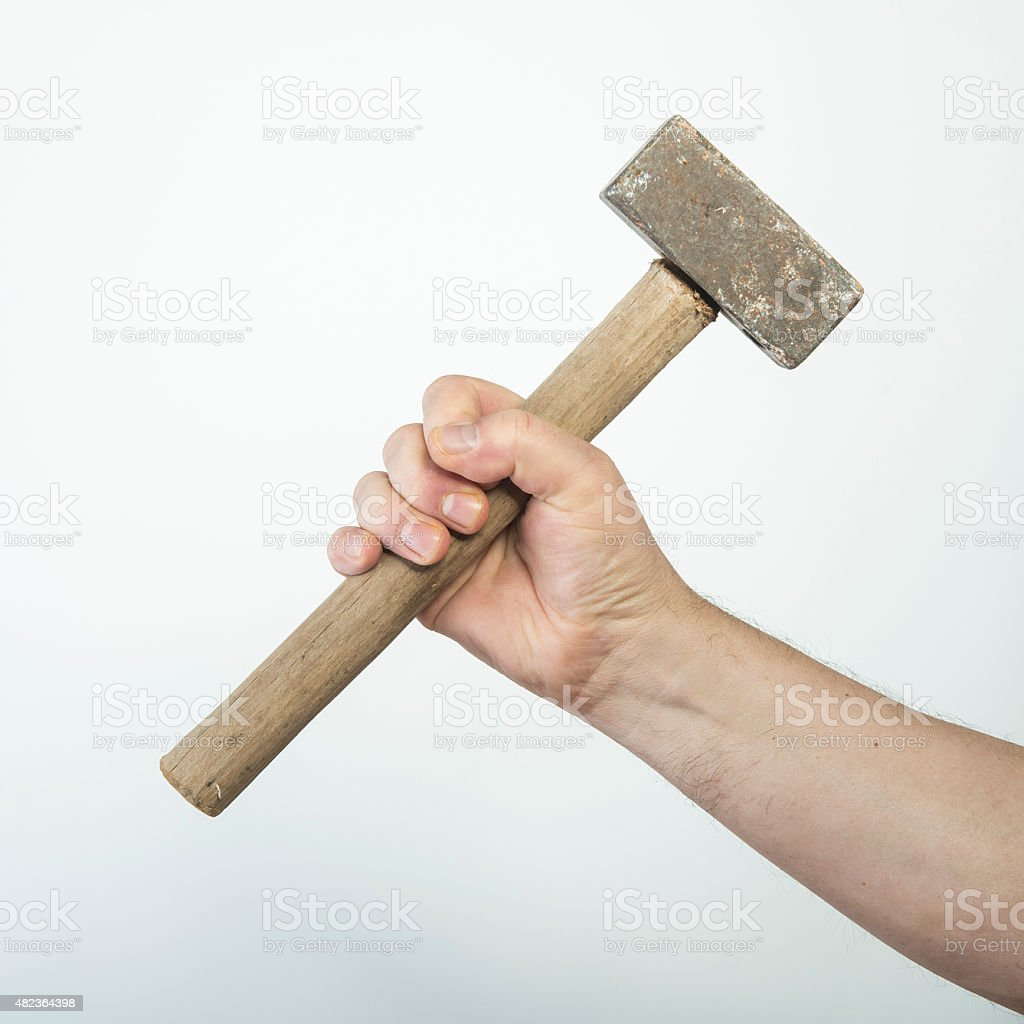 small mallet stock photo