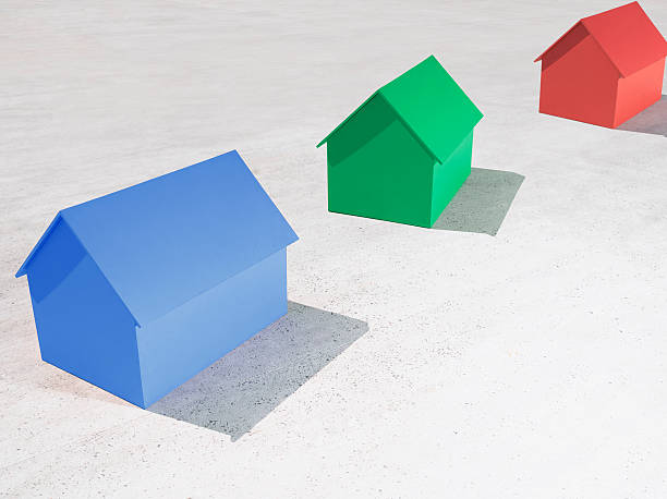 Kleine Modell Häuser – Foto