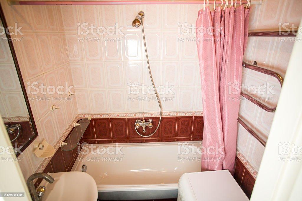 Kleine Moderne Badezimmer Innenraum Stockfoto und mehr ...